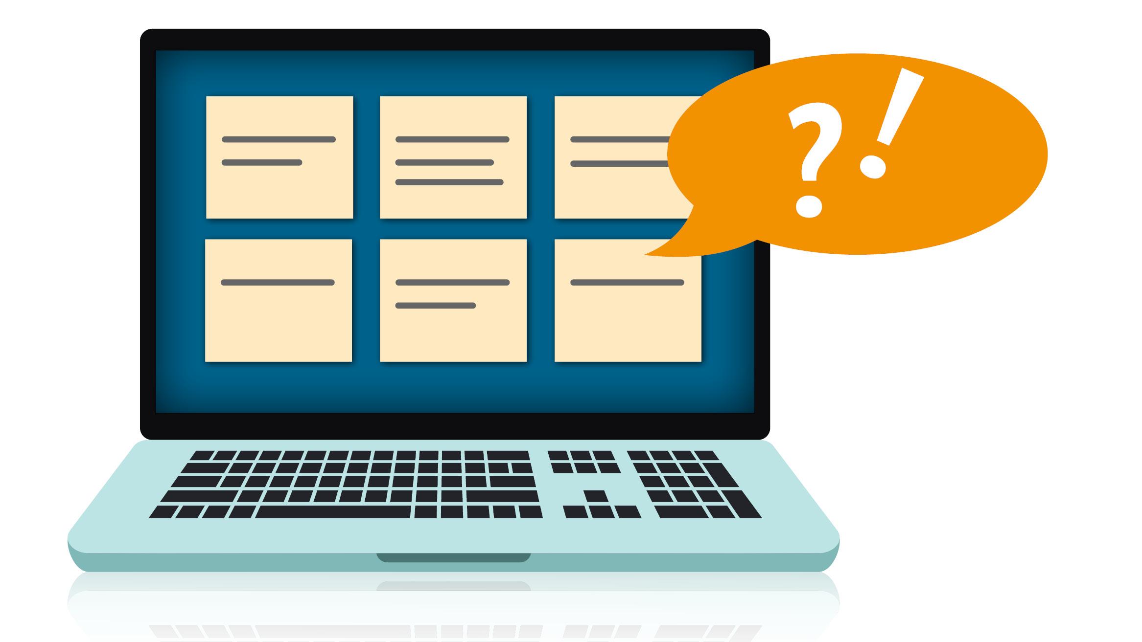 Wie würden Sie die Inhalte unserer Website anordnen?