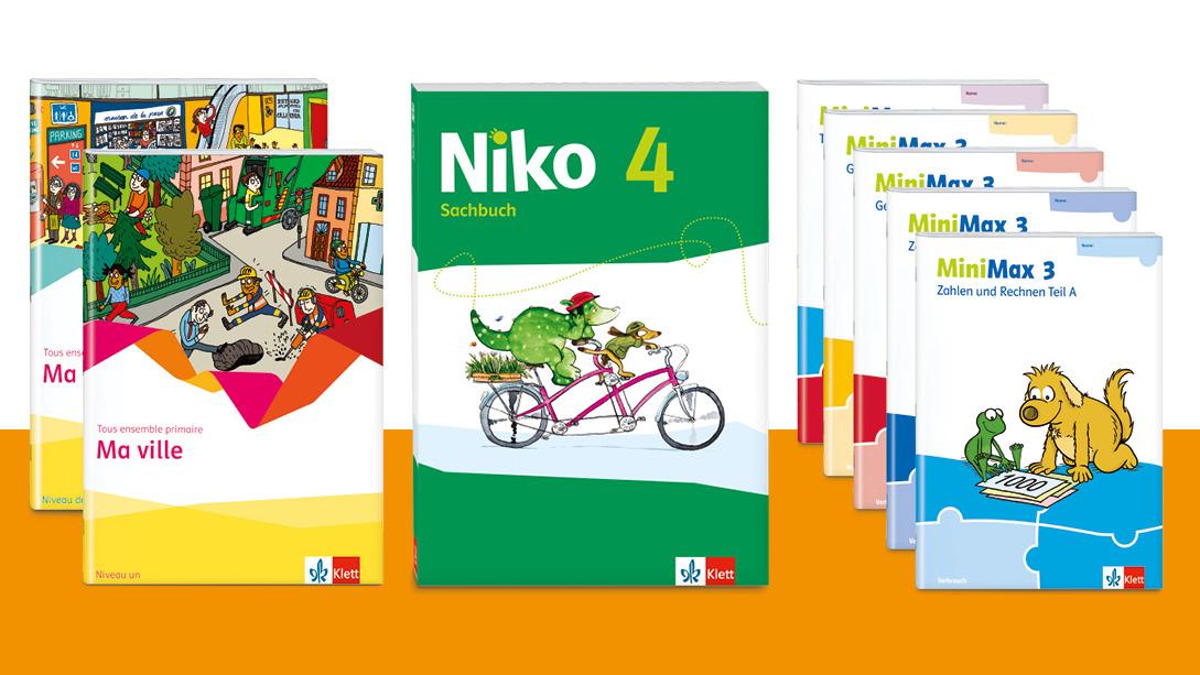 MiniMax, Tous ensemble primaire und Niko erhalten den Preis Schulbuch des Jahres 2020