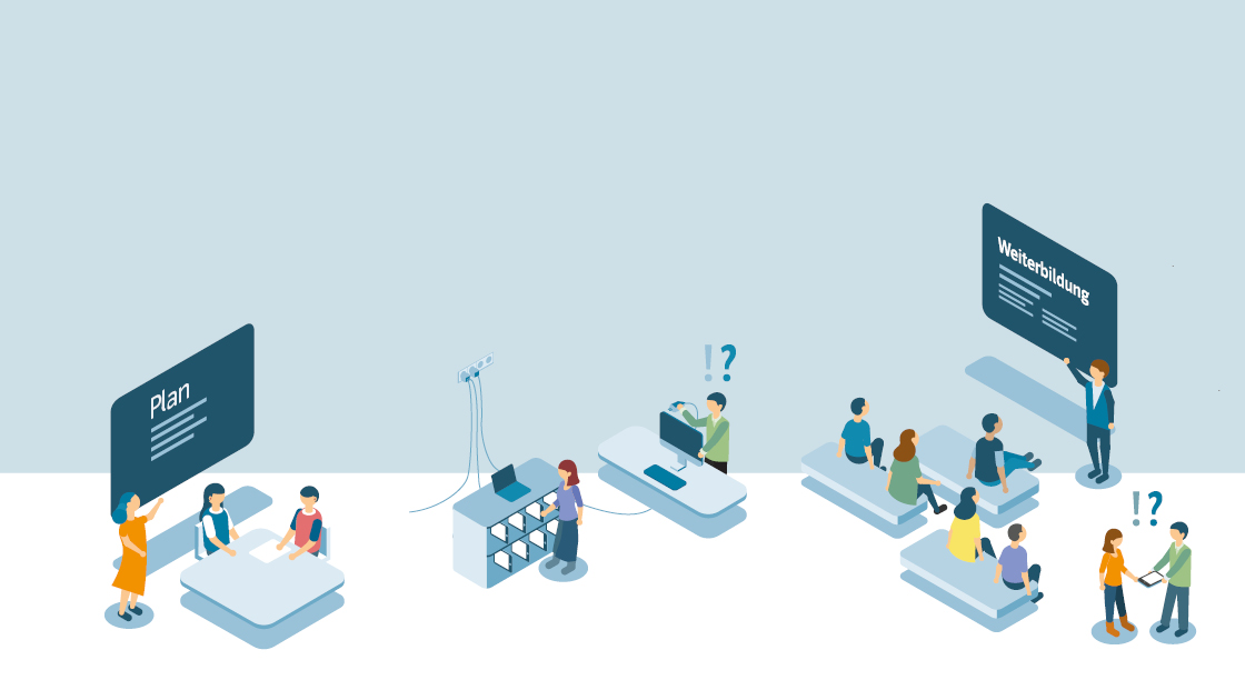 Der Weg ins digitale Zeitalter