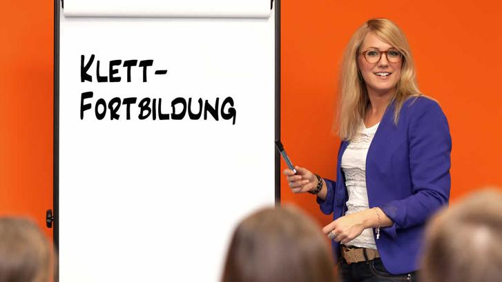 Fortbildungen und Live-Webinare von Klett