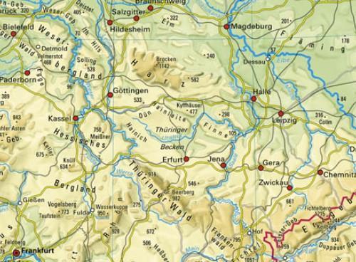 Mittelgebirge Deutschland Karte.Ernst Klett Verlag Terrasse Schulbücher Lehrmaterialien Und