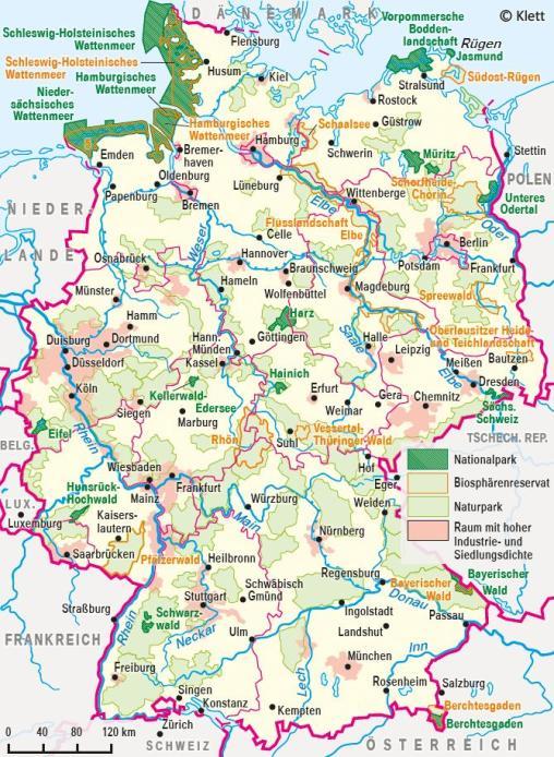 Nationalpark Eifel Karte.Ernst Klett Verlag Terrasse Schulbücher Lehrmaterialien Und
