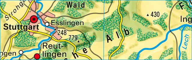 Physische Karte Usa.Ernst Klett Verlag Terrasse Schulbucher Lehrmaterialien