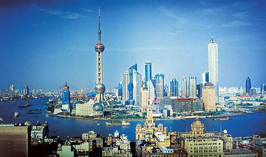 Shanghai Einwohner